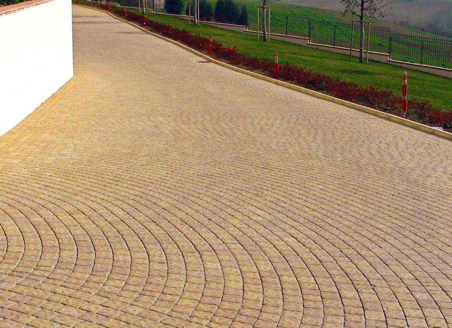 Pavimentazioni per esterni autobloccanti - Sbarbati, Macerata